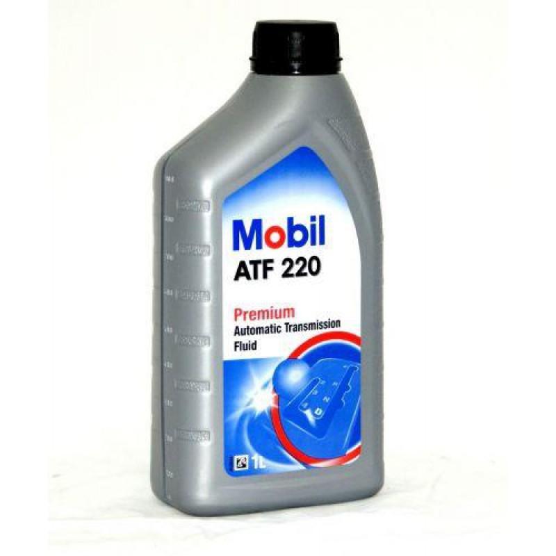 масло трансмиссионное mobil atf 220