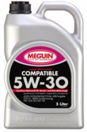 масло meguin compatible 5w30 купить